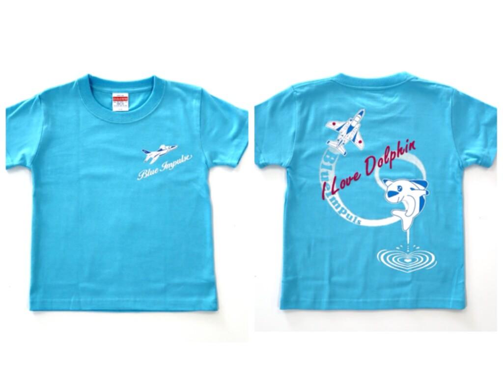 ブルーインパルス ドルフィン 航空自衛隊 Tシャツ