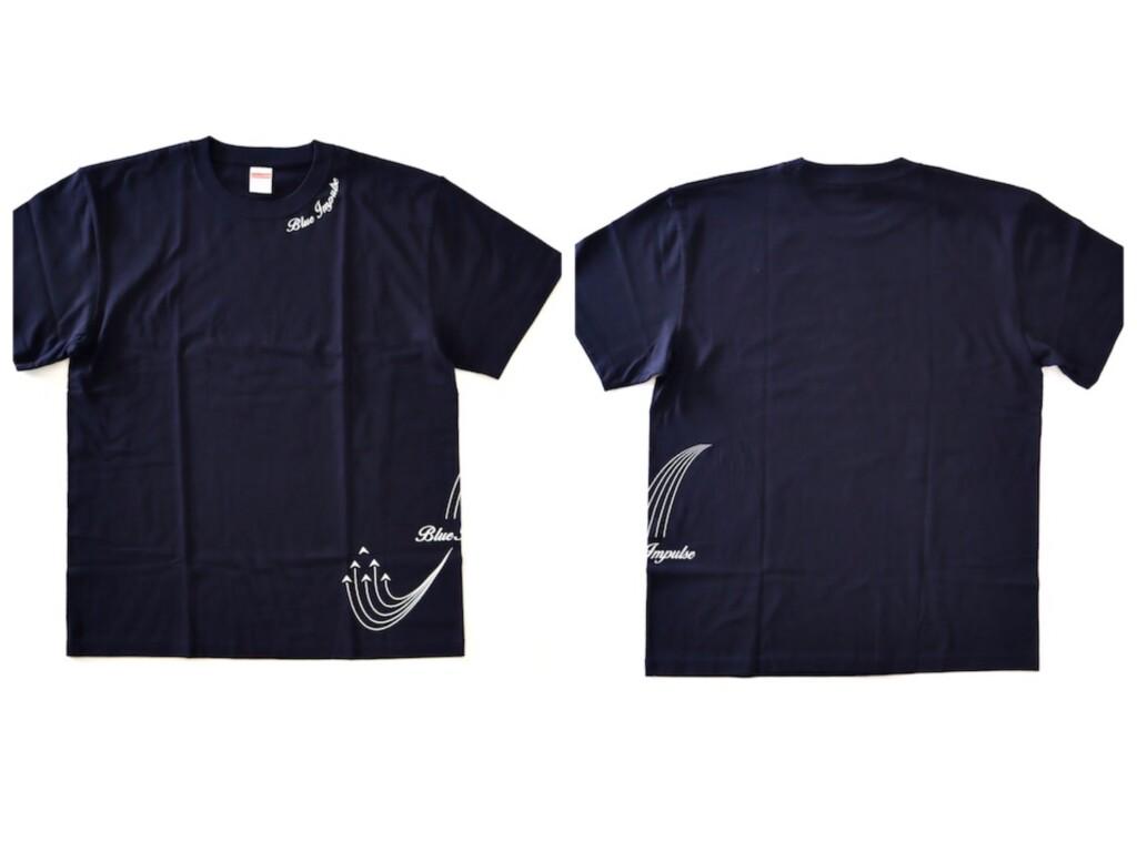 ブルーインパルス ローリング 航空自衛隊Tシャツ